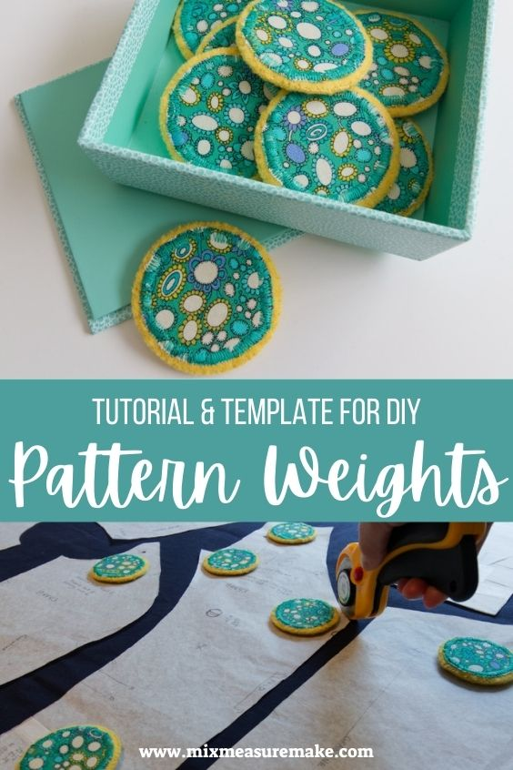 How to Make Pattern Weights Pinterest Pin