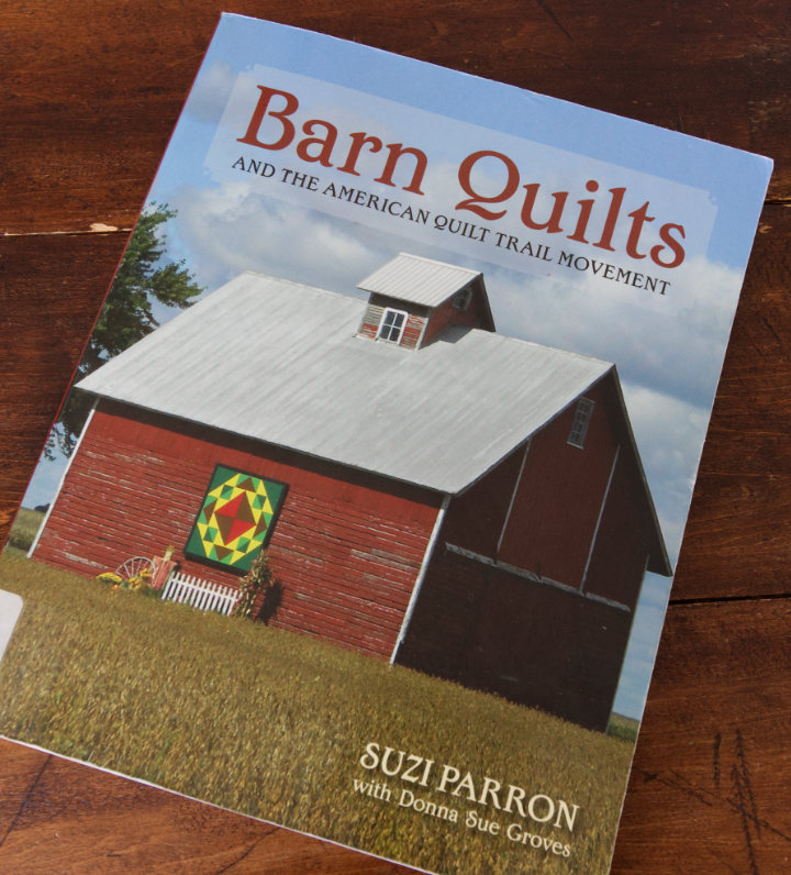 Front cover of the book Barn Quilts and the American Quilt Trail Movement